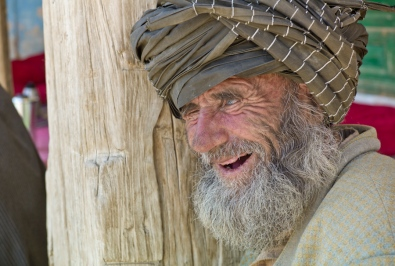 Man outside a mosque
